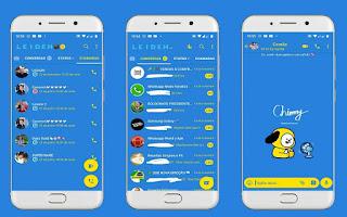 Cute & Fan Theme For YOWhatsApp & Fouad WhatsApp By Leidiane