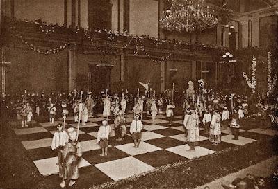 Fiestas de la Merced en 1904