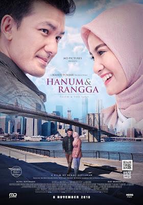 Film Hanum & Rangga: Faith & The City (2018)