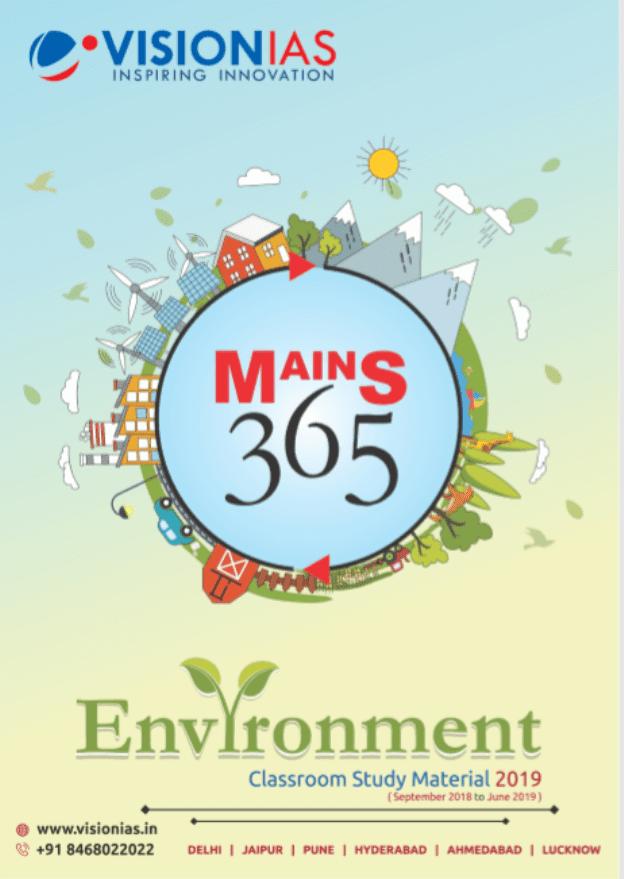 Vision-IAS-Environment-Class-Study-Material-2019-For-UPSC-Exam-PDF-Book