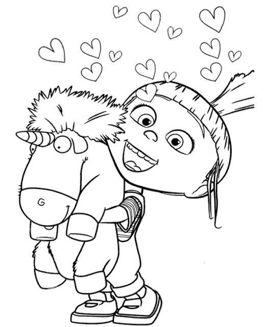 ba u00fa da web  meu malvado favorito 3 desenhos para colorir