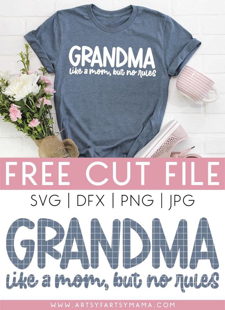 Free Grandma Cut File