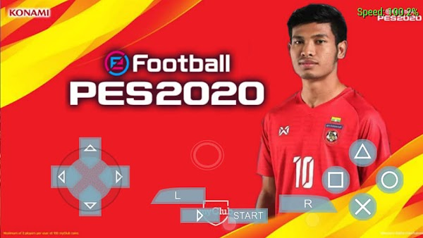 PES 2020 MYANMAR REAL   PPSSPP Android Download