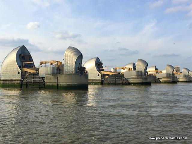 visitar la Barrera del Támesis en Londres