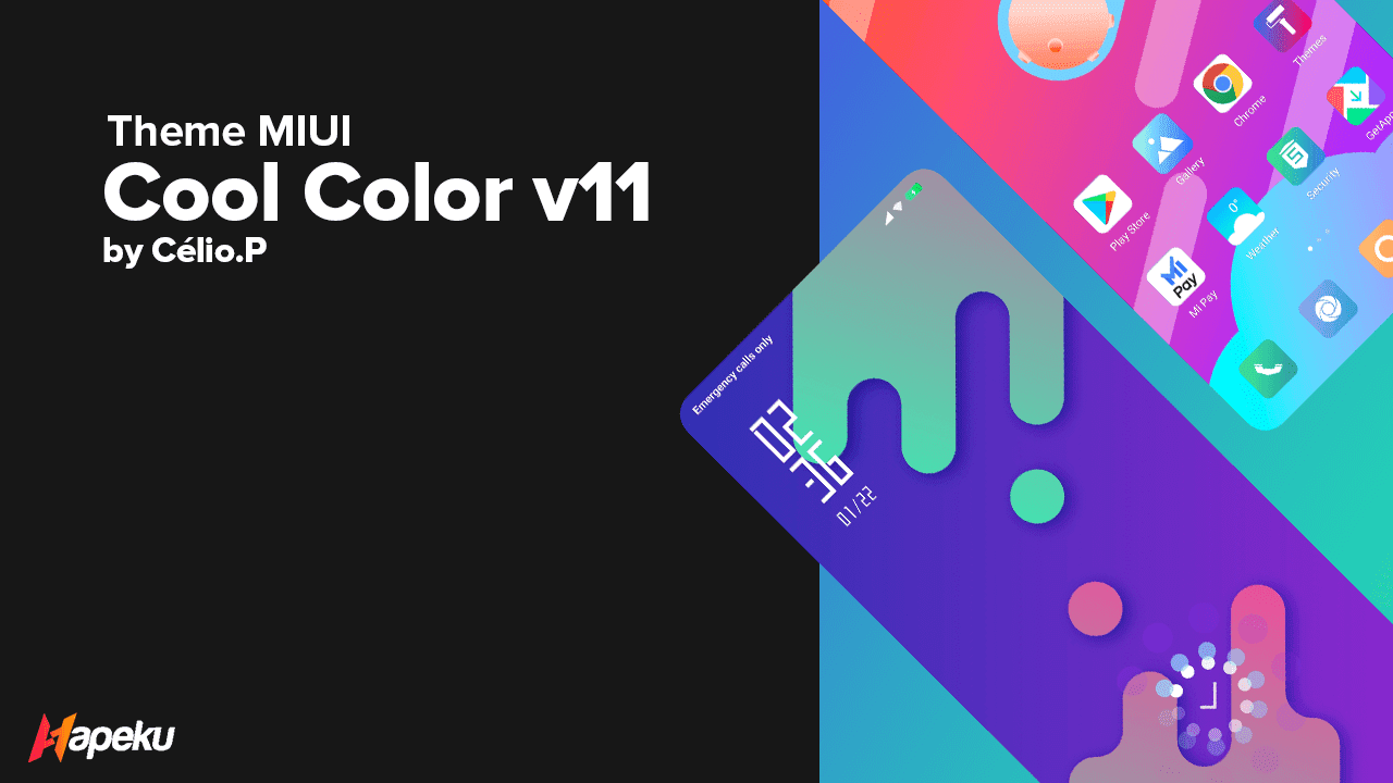 Theme Cool Color v11 for MIUI ( XIAOMI )