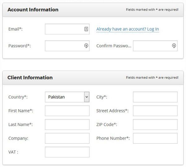 Informasi Akun dan Klien