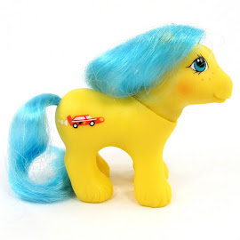 MLP Baby Racer Year Seven Playtime Baby Brother Ponies G1 Pony