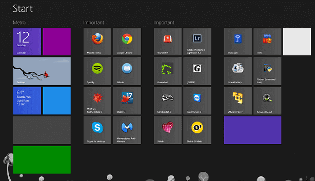 Rare Tips and Tricks to Manage Windows 8 Start Screen Tiles