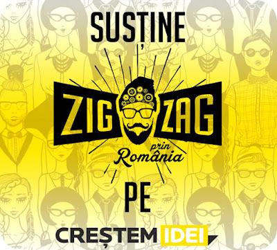 Sustinem Zig Zag prin Romania?