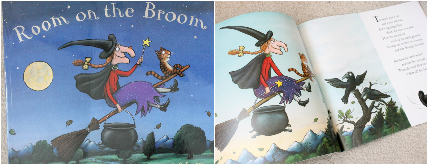Room on the Broom, Kids Halloween Books,