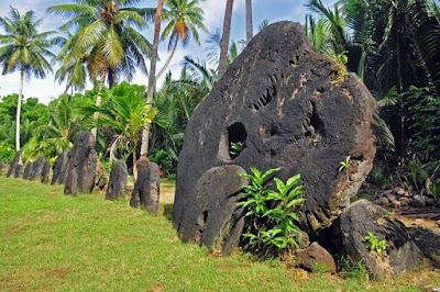 yap island money - megalithic micronesia