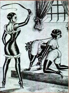 BDSM leather dominatrix mistress carlo
