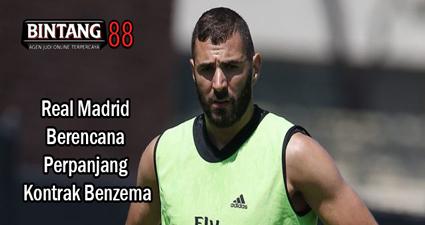 Real Madrid Berencana Perpanjang Kontrak Benzema