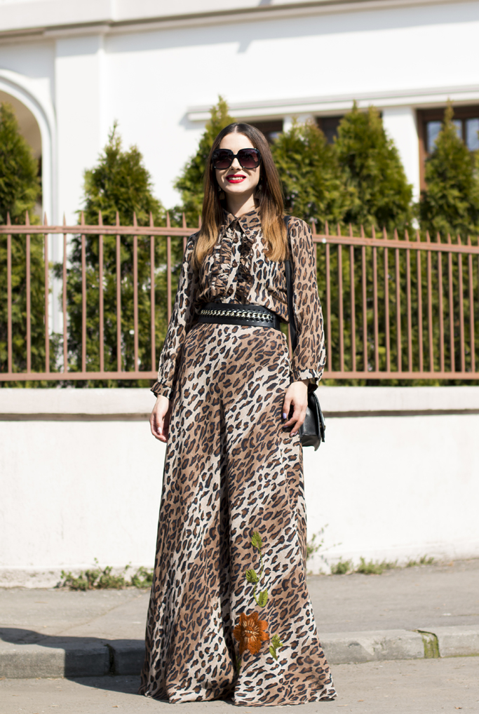 adina nanes animal print dress