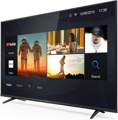 THOMSON 50UG6300: Smart TV 4K de 50'' con Bluetooth, salida HDMI y sonido Dolby Audio