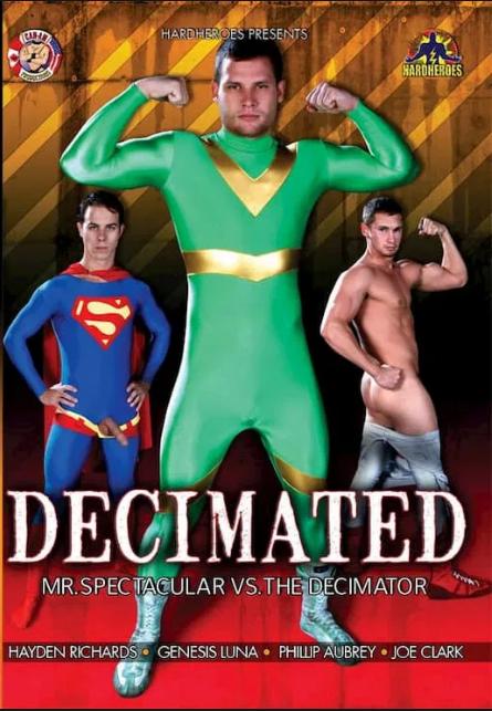 Decimated Mr Spectacular vs The Decimator Cover