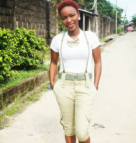 Creative or nay? See what this corp member turned her uniform into