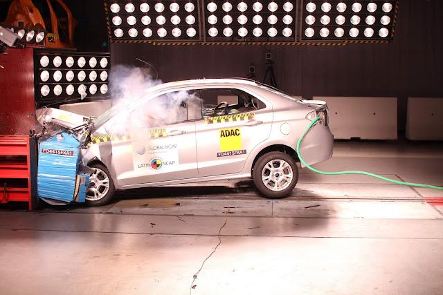 Novo Ford Ka+ 2018 - Segurança