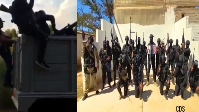 """La """"MZ"""" regresa a Nayarit, Sicarios de El Mayo Zambada armados hasta los dientes así se despliegan(VIDEO)"""