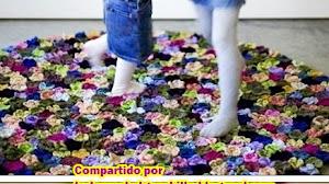 Alfombra *Jardín de flores*