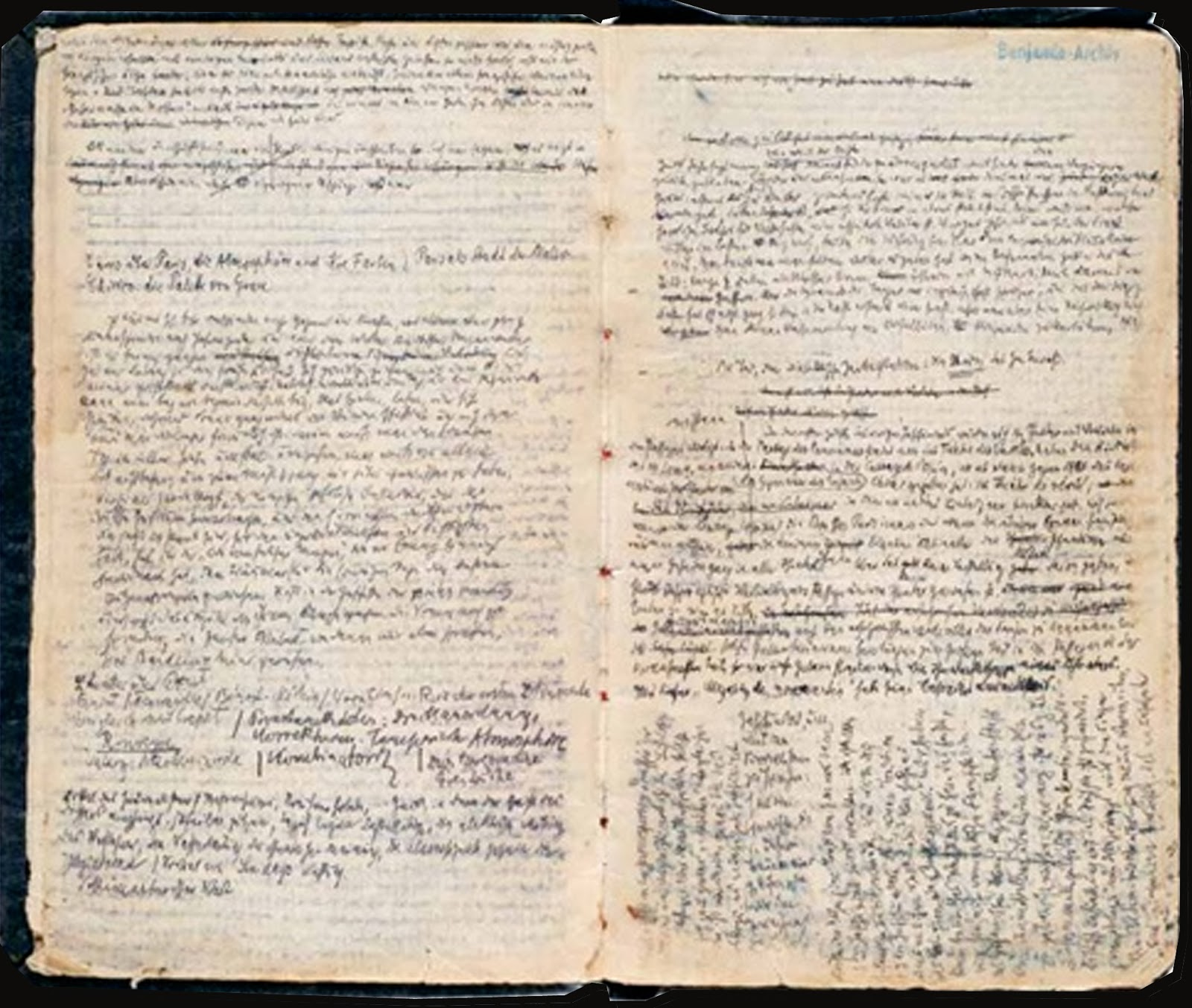 Essays on walter benjamin