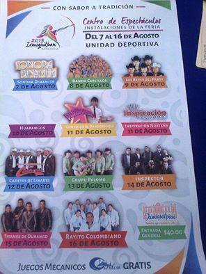 programa feria ixmiquilpan 2015