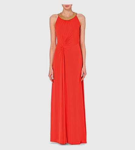 Michael Michael Kors sleeveless jersey maxi dress