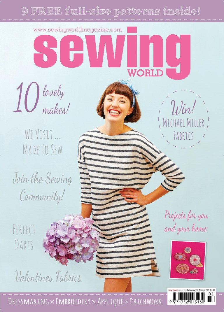 Sewing World Magazine February 2017