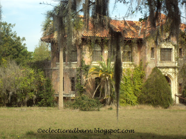 Eclectic Red Barn: Howey Mansion - side view