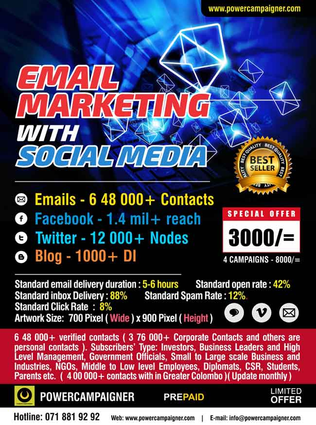 Email Marketing with Social Media.