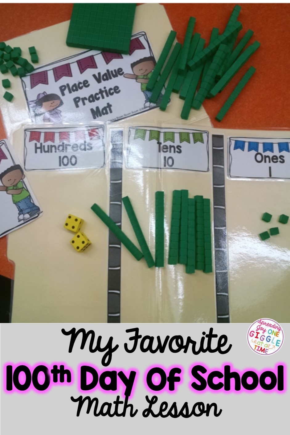 My 100th day of school favorites spreading joy one for 100th day of school decoration ideas