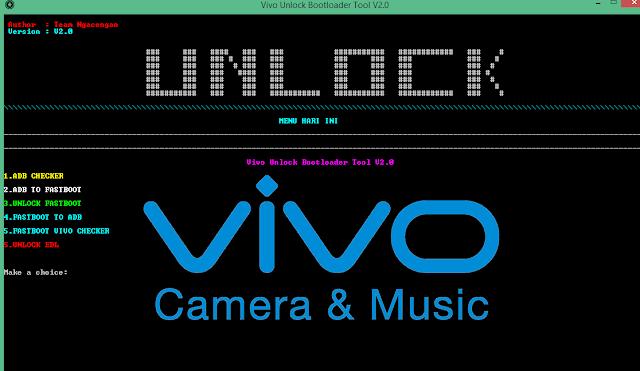 Vivo Unlock Bootloader Tool V2.0