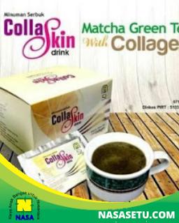 collagen teh hijau