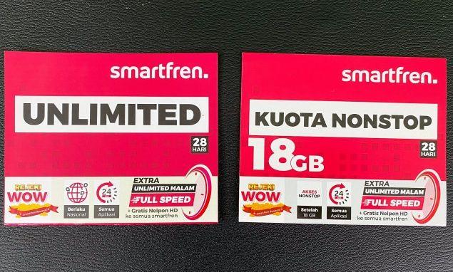Kuota Nonstop Smartfren Kini Hingga 43GB
