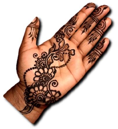 Rajasthani Easy Mehndi Design