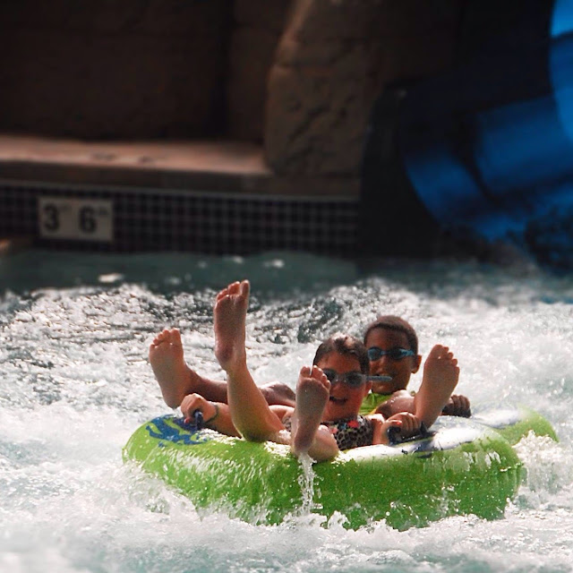 Castaway Bay, Kalahari, and Great Wolf Lodge fun for all ages