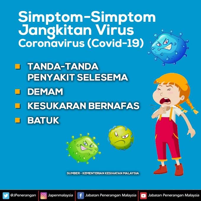 Kenali Simptom Awal COVID-19