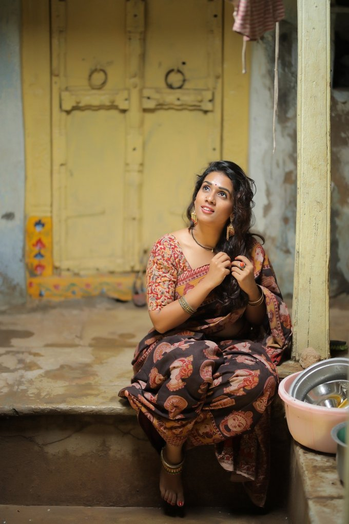 Actress Chetana Uttej Latest Hot Photoshoot Gallery