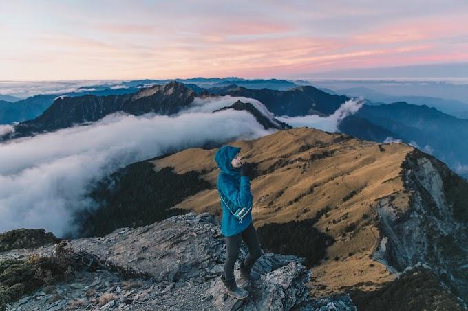 【台灣百岳】 ︳奇萊北壁下屏風山