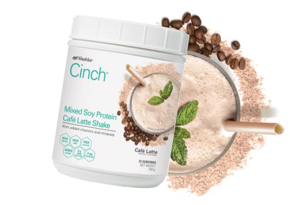 Nak Langsing Cara Sihat? Cinch® Mixed Soy Protein Café Latte Shake memahami anda