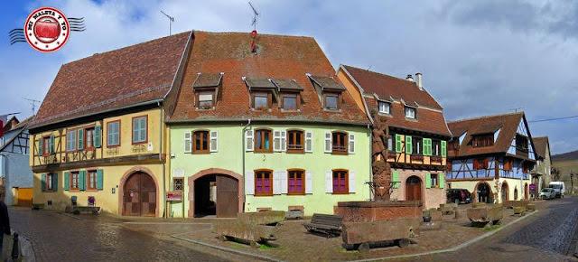 Kientzheim, Alsacia, Francia