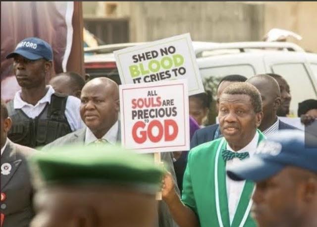 Pastor Enoch Adeboye Endorses #EndSARS Protests