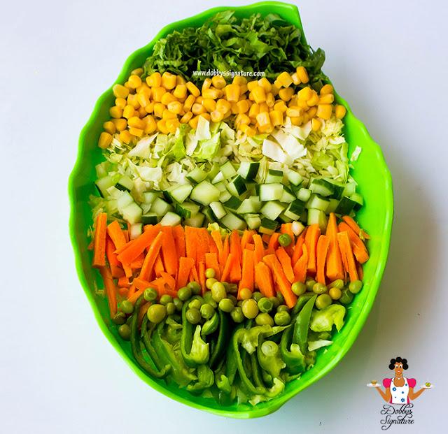 how to make nigeria salad