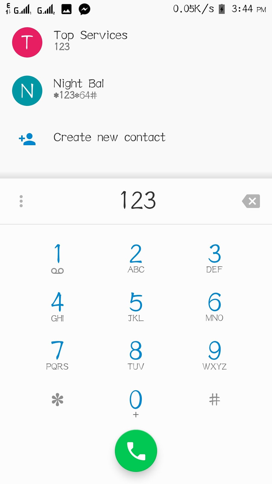 AOSP dialer and contact app ported for vibeUI 3 1 and up