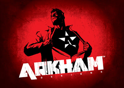 Arkham logo design