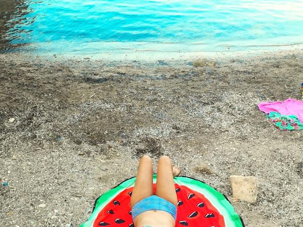 Watermelon on the beach