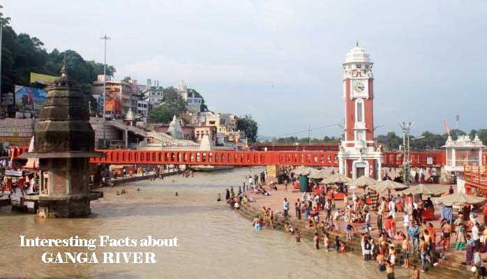 गंगा नदी कहां से निकलती है