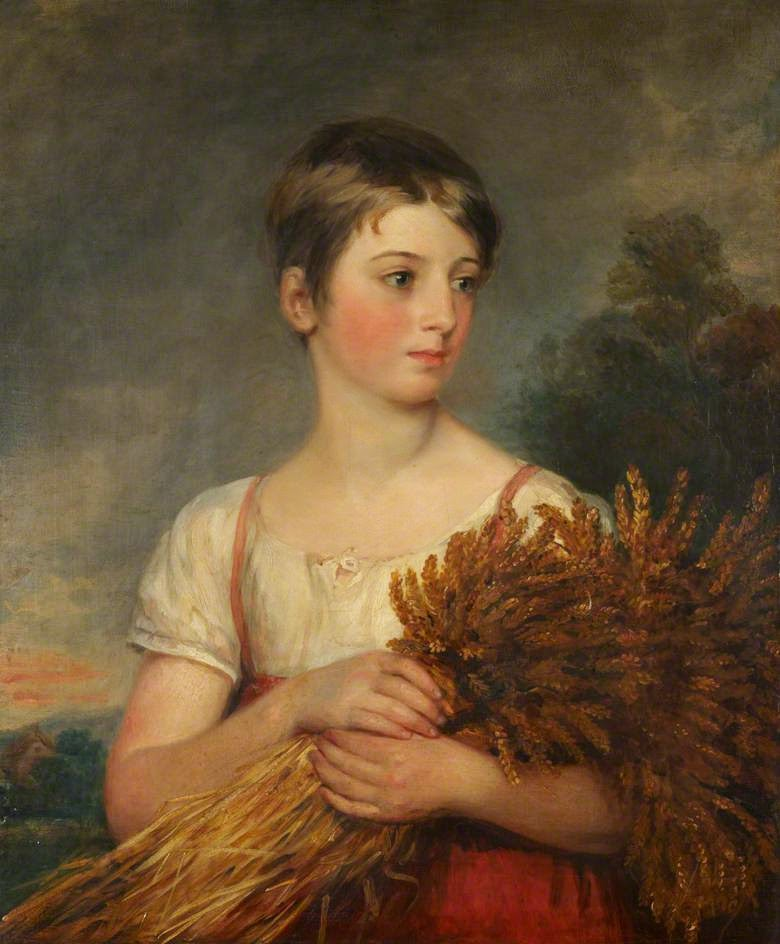 The Gleaner (1830), Margaret Sarah Carpenter