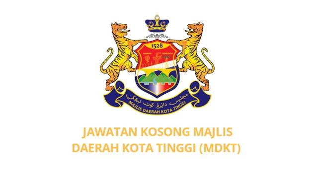 Jawatan Kosong Majlis Daerah Kota Tinggi 2021 (MDKT)