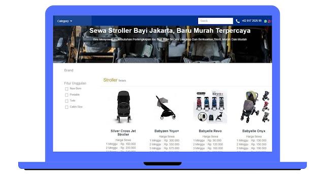 sewa stroller Jakarta